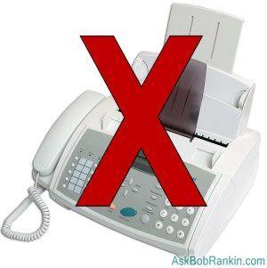 Five Reasons to Trash Your Fax Machine ... bobrankin