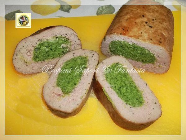 Polpettone+ripieno+di+spinaci+al+forno