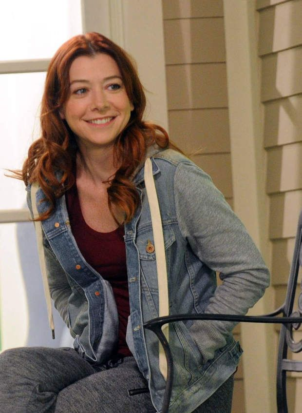 Alyson Hannigan est Lily Aldrin dans How I Met Your Mother