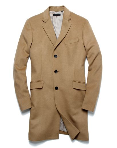 Camel top coat!