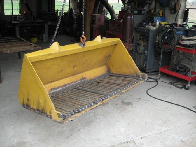17 best images about homemade heavy equipment on pinterest for Topsoil screener