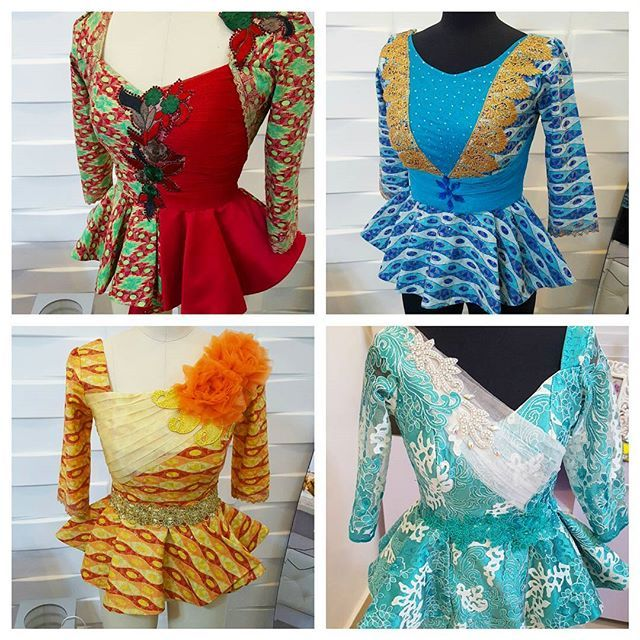 Very colorful kathyanthony blouses..#kathyanthonydesigns #skirtandblouse #kathyanthony