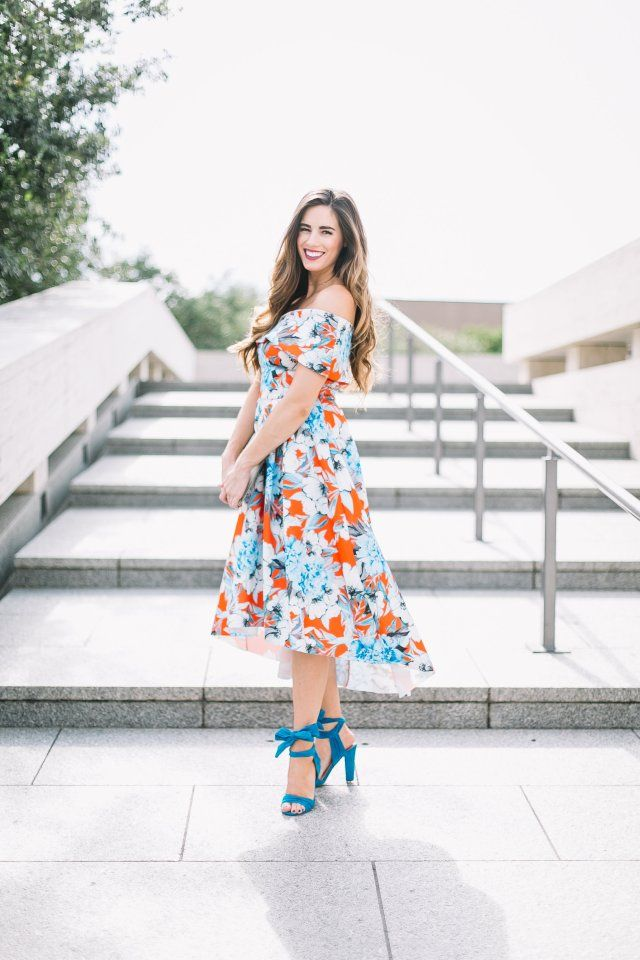 b70035c5ca7 How-to Look Expensive on a Budget   womens fashion   church outfit   summer  style  special occasion dress   lace-up heels   floral dress   blogger style