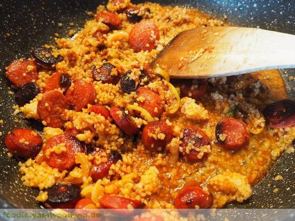 Chorizo Bulgur Pfanne