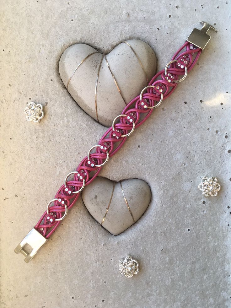 Girls Bracelet, Pink Leather Bracelet, Little Girls Jewelry, Baby Girl Present, Wide Bracelets, Wristband gift, Rhinestone Bangle by Cederdesign on Etsy https://www.etsy.com/no-en/listing/535406432/girls-bracelet-pink-leather-bracelet