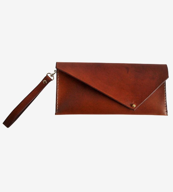 Tilda Leather Clutch by Sissipahaw Leather Co. on Scoutmob Shoppe