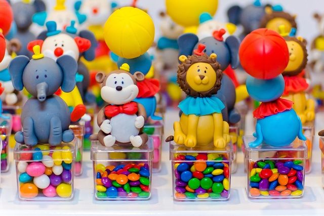 Adorable favors at a Circus party.  See more party ideas at CatchMyParty.com  #circusbirthday