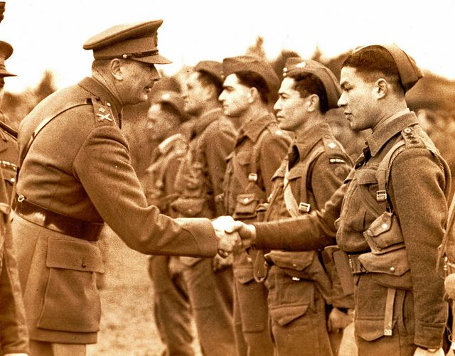 The Duke of Gloucester meets New Zealand Maori soldiers. 1940. | Flickr - Photo Sharing!