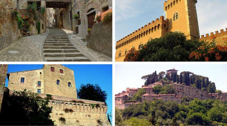 La Toscana è ricca di storia, monumenti e paesaggi straordinari. Ecco un un itinerario che vi condurrà alla scoperta di piccoli borghi e incantevoli paesi.