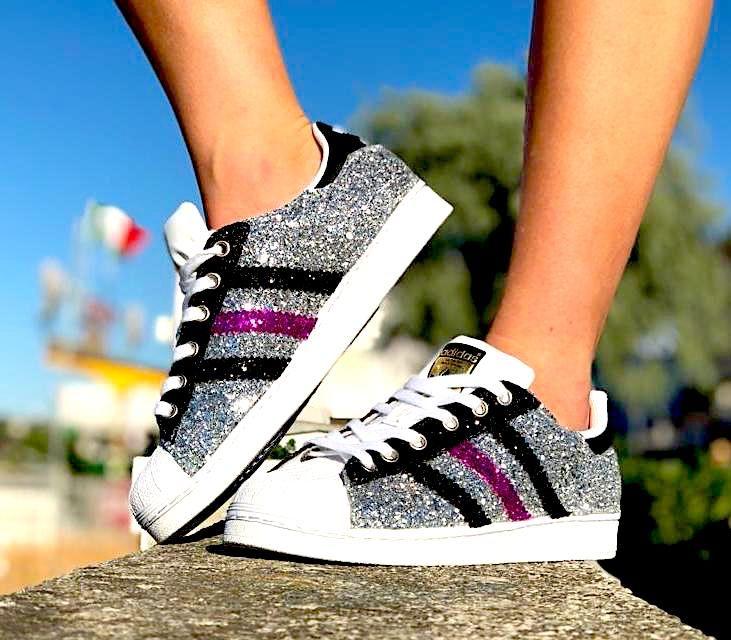 Adidas Superstar fuxia