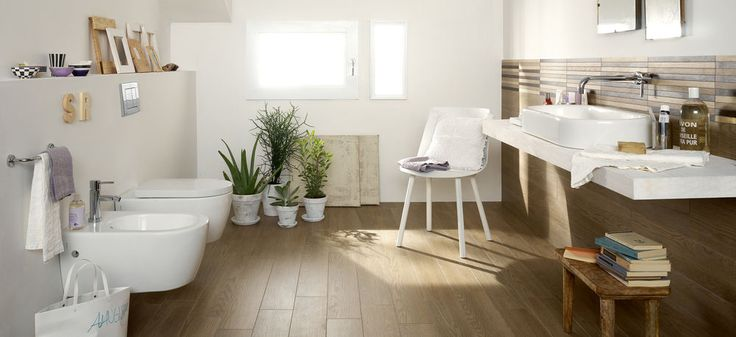 #Marazzi Treverk04 | fine porcelain stoneware with Wood aspect and slim thickness