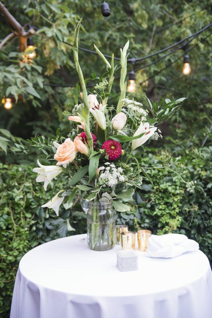 Garden Oasis Wedding Florals.