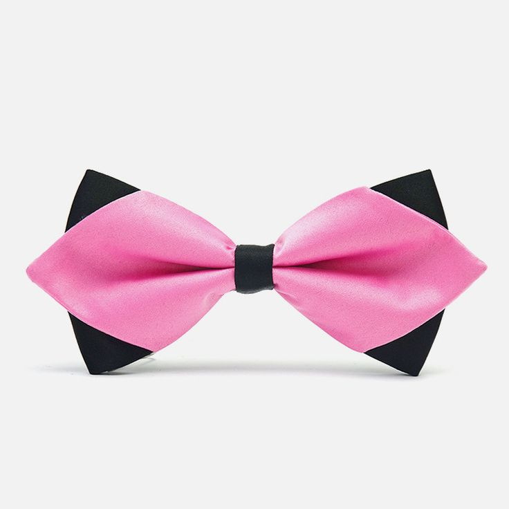 There is no doubt that pink will immediately make you the center of attention, especially when paired with a similarly exquisite pink pocket square. This bowtie expresses boldness and delicateness wit