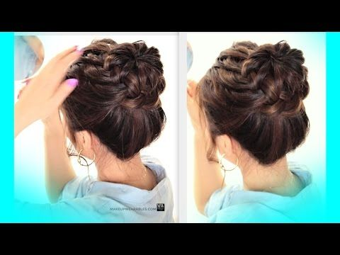 hair styles school 1000 ideas about braided bun hairstyles on 6713