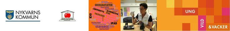 Skoldatateket i Nykvarn - en informationswebb om vad som är aktuellt i Nykvarns skolor när det gäller digitalt stöd till elever med läs- och skrivsvårigheter/dyslexi och koncentrationssvårigheter.