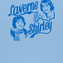 Laverne & Shirley 70s tv funny sitcom retro beer t shirt