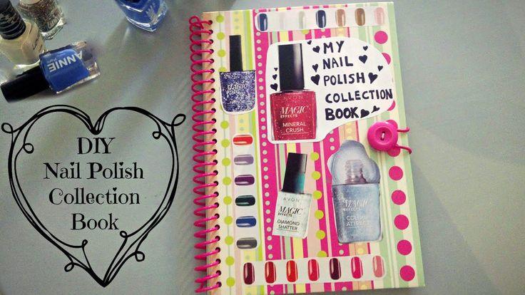 DIY Nail Polish Swatch Book♡
