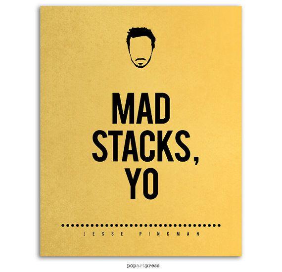 Breaking Bad Print Jesse Pinkman Breaking Bad by PopArtPress