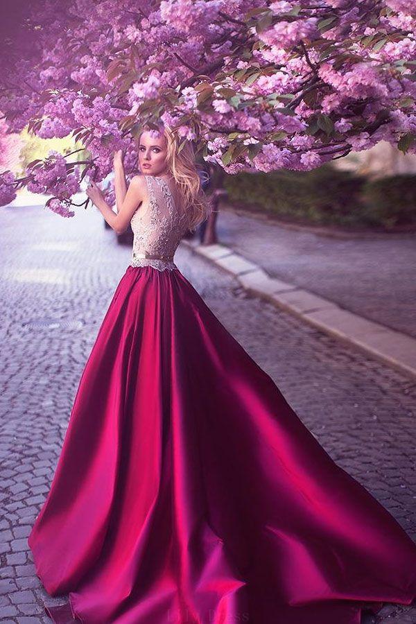 3cdbbe5b5e9f A-Line Prom Dresses #ALinePromDresses, Prom Dresses Lace #PromDressesLace,  Red Prom Dresses #RedPromDresses, Lace Red Prom dresses  #LaceRedPromdresses, Prom ...