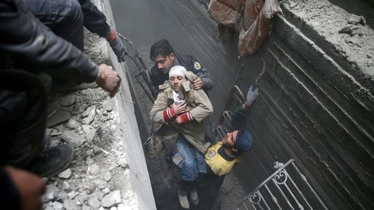 'Hell on Earth' in Eastern Ghouta must stop: UN chief | Antonio Guterres' comments come as Russia's Putin orders a 'humanitarian pause' on Tuesday so civilians can escape.
