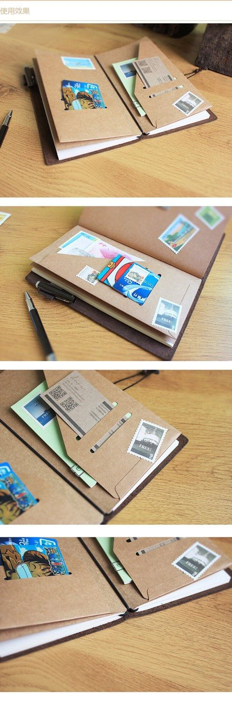 Bolsillo de papel Kraft resistente por MyWriteStuff en Etsy