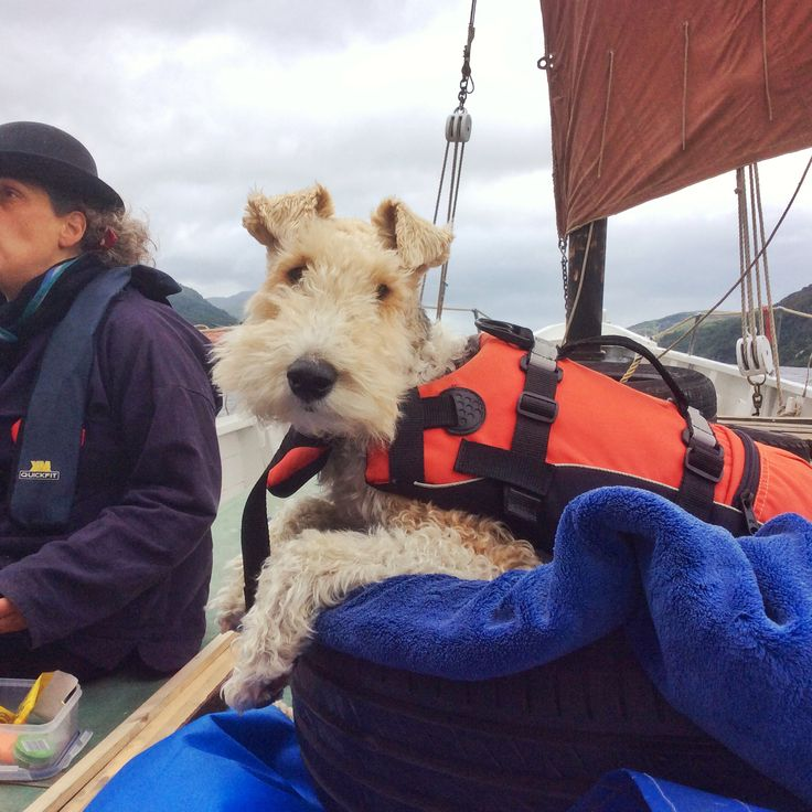 Sailing on Loch Ness on the Barnabas Lugger