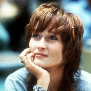 """Karen Silkwood (Meryl Streep): """"I remember in high school her saying, 'Now what'd you want to take that science class for? There's no girls in that science class. You take home ec, why don't you? That's the way to meet the nice boys.' 'Mom,' I said, There ain't no boys in home ec. The boys are in the science class.' She hated when I said, 'Ain't.'"""" -- from Silkwood (1983) directed by Mike Nichols"""