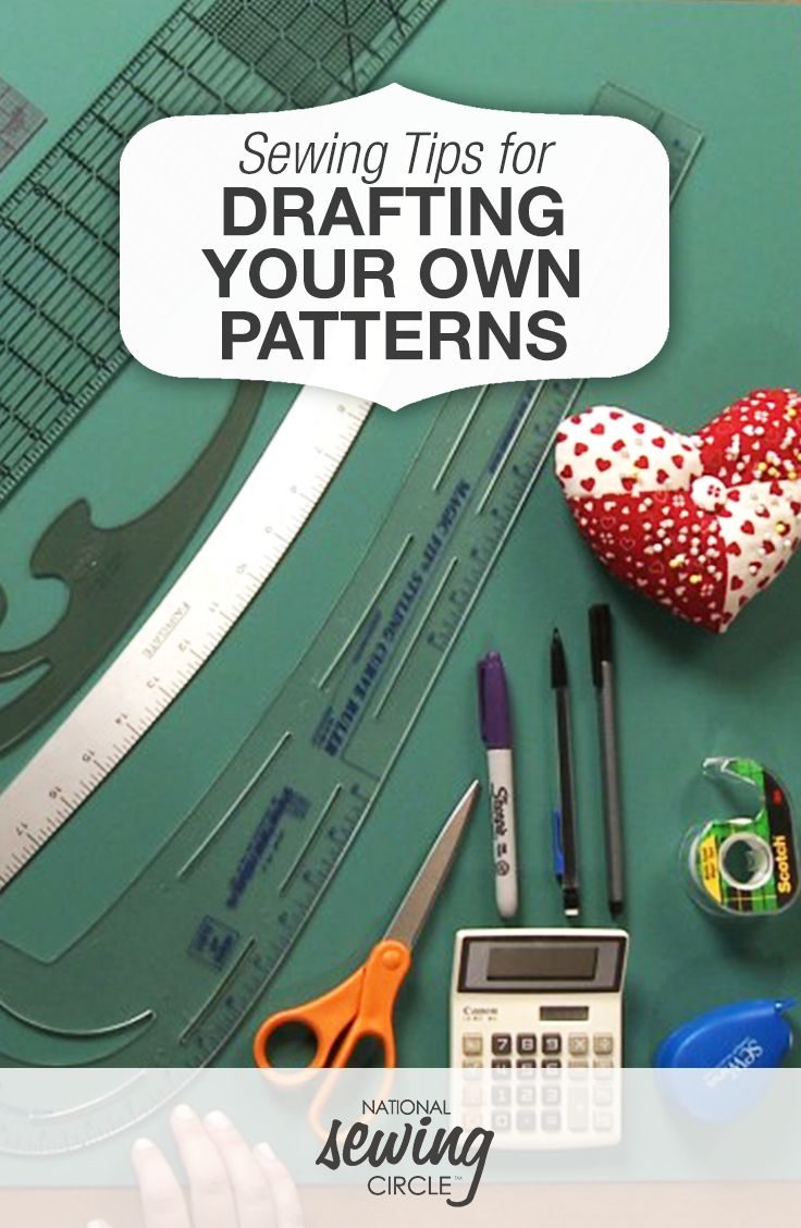 Tips for Drafting Patterns - Sewing Video