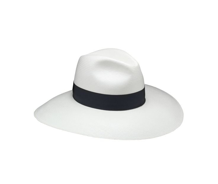Panama fine Sophie. Product code: 231986 Shop it here: http://shop.borsalino.com/en/womans-collection/spring-summer/straw-hats/thin-panama-hat-wide-brim-2