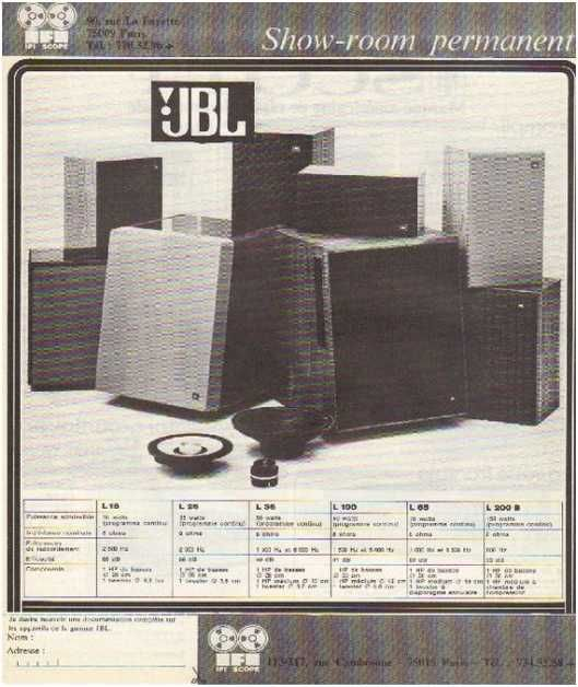 Haute fid lit jbl publicit s hi fi vintage pinterest for Haute fidelite