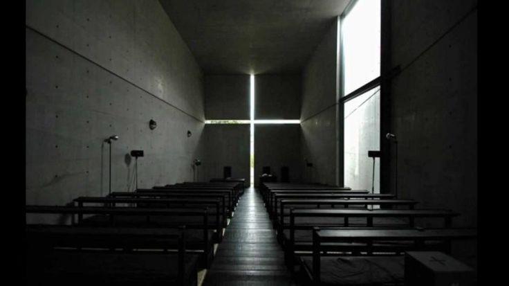 Arquitetos norte-americanos elegem 22 prédios mais lindos do mundo | HypeScience  A igreja da Luz em Osaka, Japão