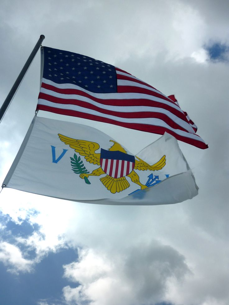us virgin islands flag,  | Flags of the US virgin islands and the united states of america | us ...