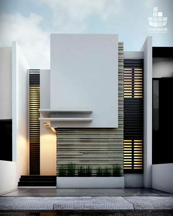 Best 25 modern house facades ideas on pinterest modern Window styles for contemporary homes