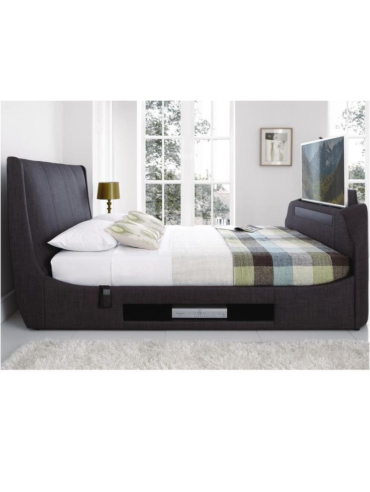 Verychristmascrib Sandown Tv Bed Frame With Optional Mattress And Next Day Delivery Http