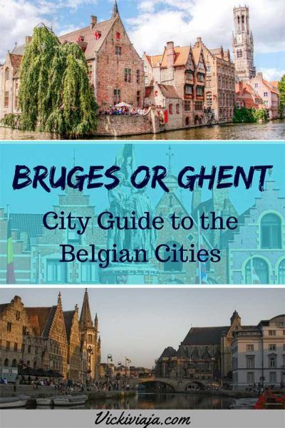 Bruges oder Ghent? Which Belgian City is better? I City Guide Bruges I City Guide Ghent I What to see in Bruges and Ghent I Attractions in Ghent and Bruges I Comparison between Brugge and Ghent I Brugge I #Brugge #Bruges #Ghent #Belgium #Cityguide