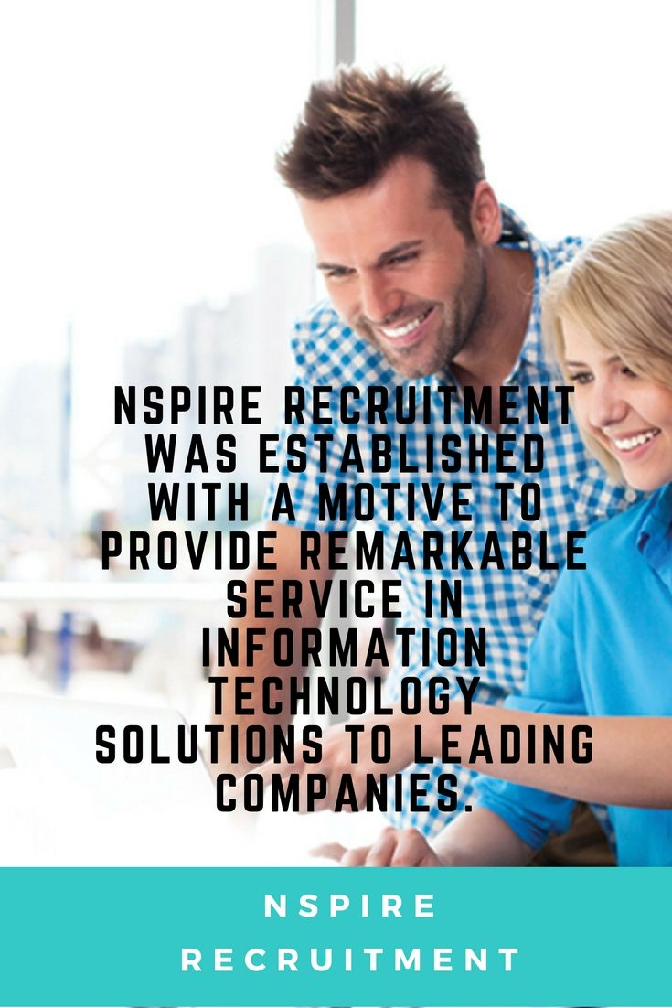 Nspire Recruitment is specialist IT Recruitment Agency.Find permanent and contract based IT jobs in Australia.We take time to understand clients and candidate's requirements, allowing us to deliver the exceptional results.To know more visit:https://nspirerecruitment.com.au/