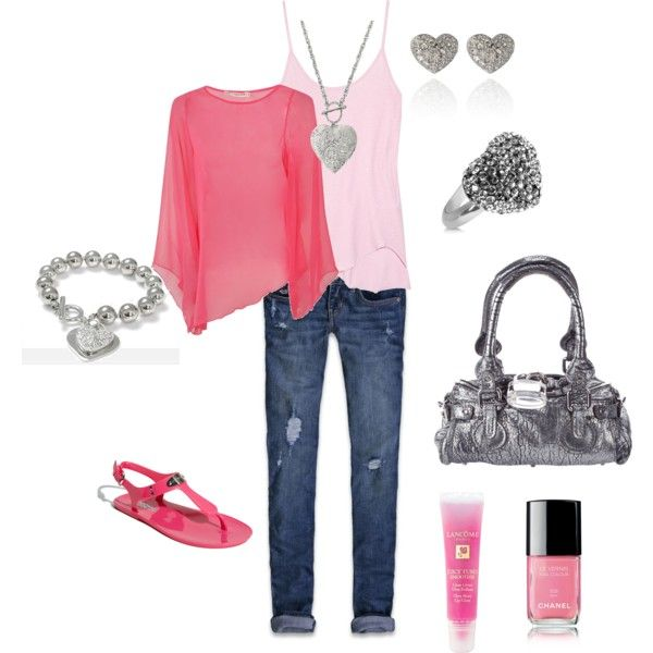 Outfit: Fashion, Heart, Style, Pink Outfit, Clothes, Valentines Day, Lunch, Closet, Valentine S