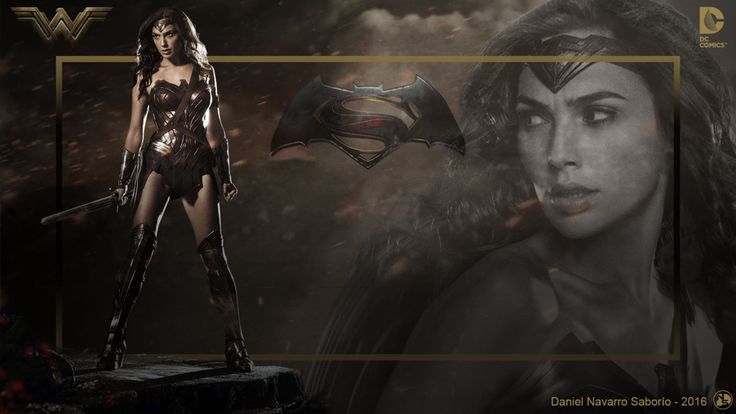 Wonder Woman Movie BvS Wallpaper by DanielNS116.deviantart.com on @DeviantArt