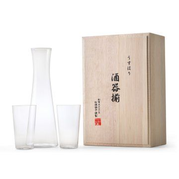 松徳硝子/うすはり 酒器揃