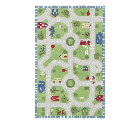 Play in the Park/Road Rug | Pottery Barn Kids $299
