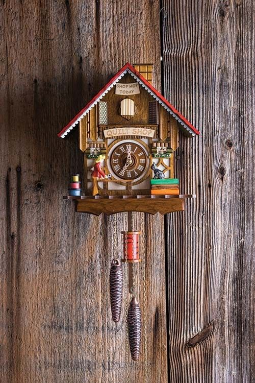 best cuckoo clocks images cuckoo clocks  quilt shop cuckoo clock
