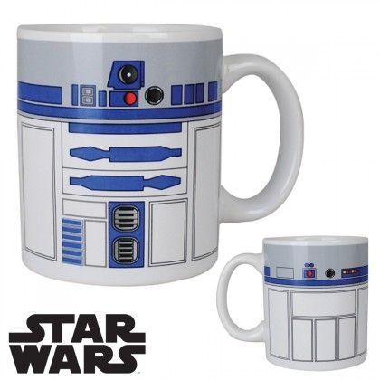 Produit dérivé Star Wars : mug en céramique R2D2 sur Cadeaux et Anniversaire