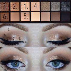 smashbox eyeshadow tutorial - Sök på Google