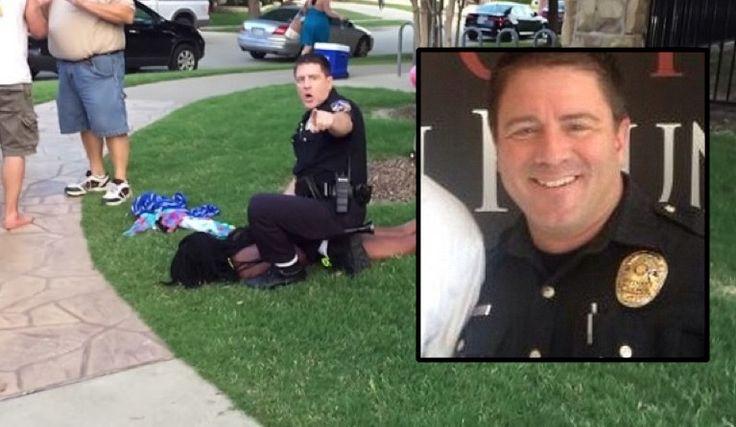 BREAKING: McKinney Officer Who Confronted Black Girl In Bikini Has Resigned