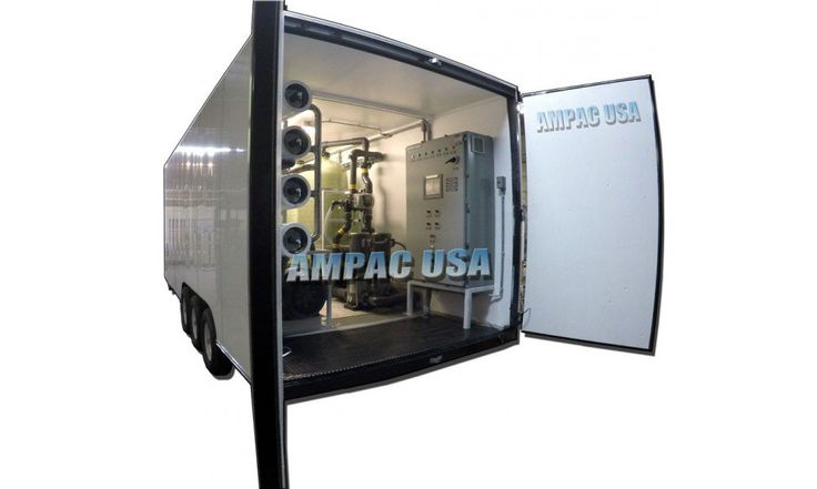 Mobile Seawater Desalination Watermaker System - SW100K-LX | Ampac USA