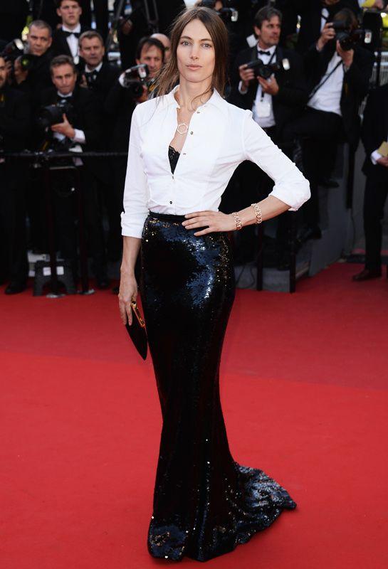 Jessica Miller Gucci Cannes 2013