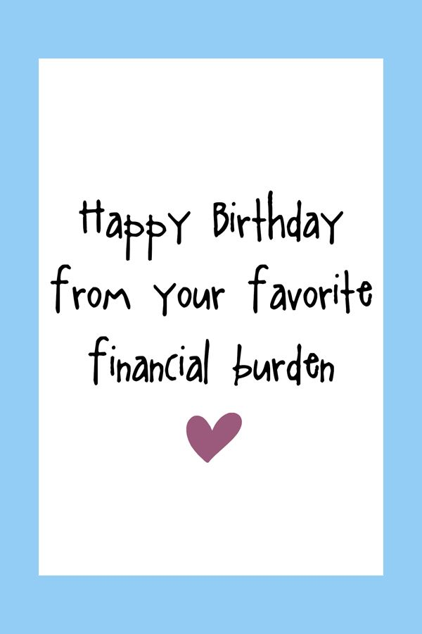 Funny Birthday Card Digital Printable Card Birthday Wishes For Mom Happy Birthday Papa Quotes Happy Birthday Mom Funny