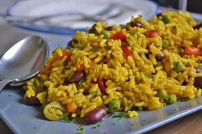 Vegetarische Paella-Rezept