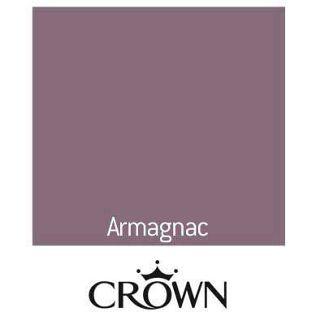 Crown Fashion For Walls Indulgence Matt Emulsion Tester Paint - Armagnac - 125ml from Homebase.co.uk