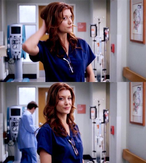 I want to be as kick ass and confident as Addison Montgomery. Sure she's a tv show character, but she's the kind of doctor I want to be... just maybe a little less sassy.